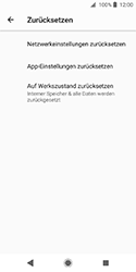 Sony Xperia XZ2 Compact - Fehlerbehebung - Handy zurücksetzen - 8 / 12
