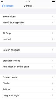 Apple iPhone 7 Plus - iOS 13 - Prise en main - Comment ajouter une langue de clavier - Étape 4