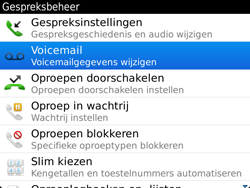 BlackBerry 9900 Bold Touch - Voicemail - Handmatig instellen - Stap 5