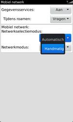 BlackBerry 9860 Torch - netwerk en bereik - gebruik in binnen- en buitenland - stap 6