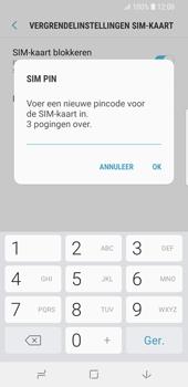 Samsung Galaxy S9 (SM-G960F) - Beveiliging en ouderlijk toezicht - Hoe wijzig ik mijn SIM PIN-code - Stap 9