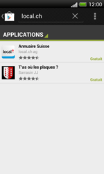HTC One SV - Applications - Installation d