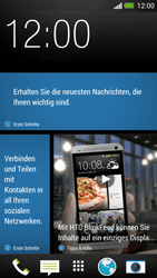 HTC One - Internet - Automatische Konfiguration - 1 / 2