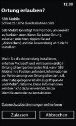 Nokia Lumia 800 / Lumia 900 - Apps - Installieren von Apps - Schritt 15