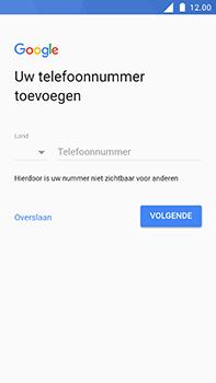 Nokia 6 - Applicaties - Account aanmaken - Stap 15