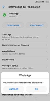 Huawei Mate 10 Pro - Applications - Comment désinstaller une application - Étape 7