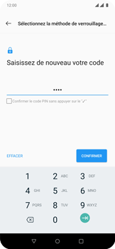 OnePlus 7 Pro - Sécuriser votre mobile - Activer le code de verrouillage - Étape 10