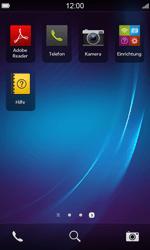 BlackBerry Z10 - E-Mail - Konto einrichten - Schritt 3
