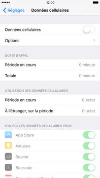 Apple Apple iPhone 6 Plus iOS 10 - Internet - Désactiver les données mobiles - Étape 5