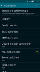 Samsung G850F Galaxy Alpha - SMS - SMS-centrale instellen - Stap 6