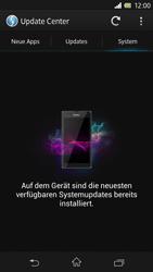 Sony Xperia Z - Software - Installieren von Software-Updates - Schritt 8