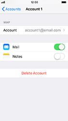 Apple iPhone 5s - iOS 12 - E-mail - Manual configuration - Step 28