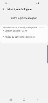Samsung Galaxy S10e - Logiciels - Installation de mises à jour - Étape 8
