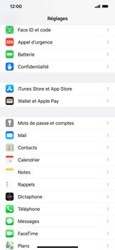 Apple iPhone XS Max - iOS 13 - Sécurité - activéz le code PIN de l'appareil - Étape 3