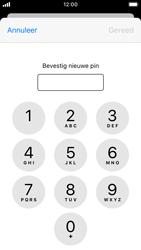 Apple iPhone SE - iOS 13 - Beveiliging - Stel de pincode voor je simkaart in - Stap 10