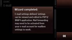 Nokia N97 Mini - E-mail - Manual configuration - Step 19