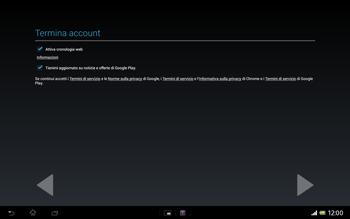 Sony Xperia Tablet Z LTE - Applicazioni - Configurazione del negozio applicazioni - Fase 19