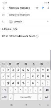 Samsung Galaxy Note 10 - E-mails - Envoyer un e-mail - Étape 10