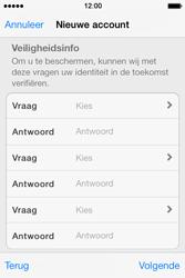 Apple iPhone 4 S - iOS 7 - apps - account instellen - stap 13