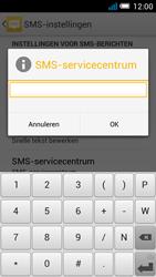 Alcatel OT-5036X Pop C5 - SMS - SMS-centrale instellen - Stap 8
