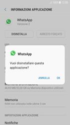 Samsung Galaxy A5 (2017) - Android Nougat - Applicazioni - Come disinstallare un