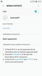 Samsung Galaxy J3 (2017) (SM-J330F) - WiFi - Mobiele hotspot instellen - Stap 12