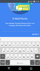 Sony Xperia XZ - E-Mail - Konto einrichten - Schritt 7