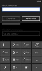 Nokia Lumia 925 - Anrufe - Rufumleitungen setzen und löschen - 1 / 1