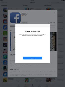 Apple iPad Pro 12.9 inch (Model A1671) - Applicaties - Account aanmaken - Stap 23