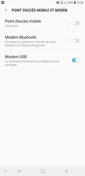 Samsung Galaxy J4+ - Internet et connexion - Utiliser le mode modem par USB - Étape 9