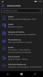 Microsoft Lumia 950 - WLAN - Manuelle Konfiguration - Schritt 4