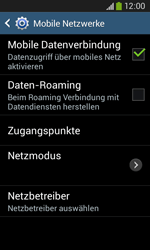 Samsung Galaxy Core Plus - Ausland - Im Ausland surfen – Datenroaming - 8 / 12