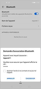 Huawei Nova 5T - Bluetooth - Jumelage d
