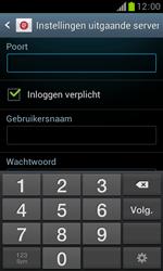 Samsung S7560 Galaxy Trend - E-mail - Handmatig instellen - Stap 13