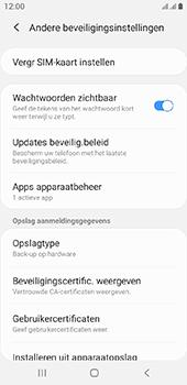 Samsung galaxy-a6-sm-a600fn-ds-android-pie - Beveiliging en ouderlijk toezicht - Hoe wijzig ik mijn SIM PIN-code - Stap 6