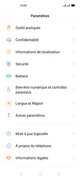 Oppo Reno 4 - Sécuriser votre mobile - Personnaliser le code PIN de votre carte SIM - Étape 4