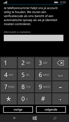 Microsoft Lumia 535 - Applicaties - Account aanmaken - Stap 19