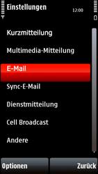 Nokia 5800 Xpress Music - E-Mail - Konto einrichten - Schritt 5