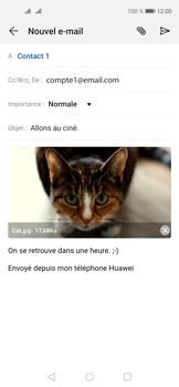 Huawei Nova 5T - E-mails - Envoyer un e-mail - Étape 16