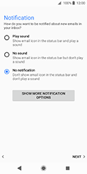 Sony Xperia XZ2 Compact - E-mail - Manual configuration (yahoo) - Step 11