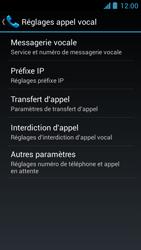 Acer Liquid Z5 - Messagerie vocale - configuration manuelle - Étape 6