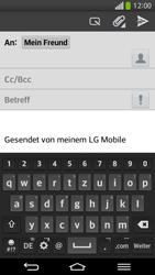 LG D955 G Flex - E-Mail - E-Mail versenden - Schritt 8