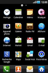 Samsung S5660 Galaxy Gio - E-mail - Configuration manuelle - Étape 3