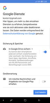 Samsung Galaxy S9 Plus - Apps - Konto anlegen und einrichten - 19 / 21