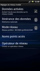 Sony Xperia Arc - Internet - Configuration manuelle - Étape 7