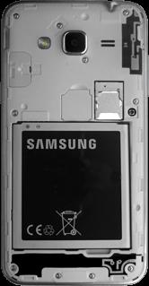 Samsung Galaxy J3 (SM-J320FN) - Instellingen aanpassen - SIM-Kaart plaatsen - Stap 6