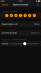 Apple iPhone 6 iOS 10 - iOS features - Coucher - Étape 12