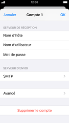 Apple iPhone SE - iOS 13 - E-mail - configuration manuelle - Étape 16