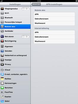 Apple iPad mini - Internet - handmatig instellen - Stap 6