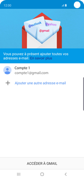 Samsung Galaxy S10 - E-mail - 032a. Email wizard - Gmail - Étape 13
